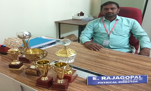 sports hod Raja Gopal